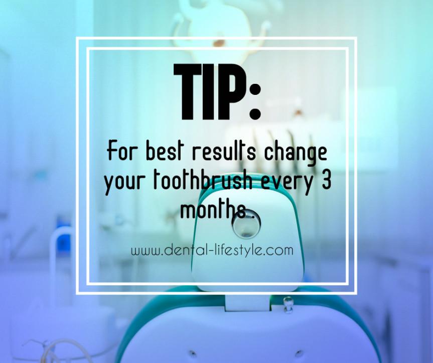 Κάθε πότε αλλάζουμε την οδοντόβουρτσα μας;