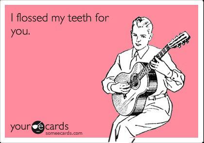 Οδοντικό νήμα για χάρη σου