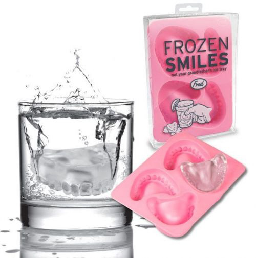 Dental ice cubes