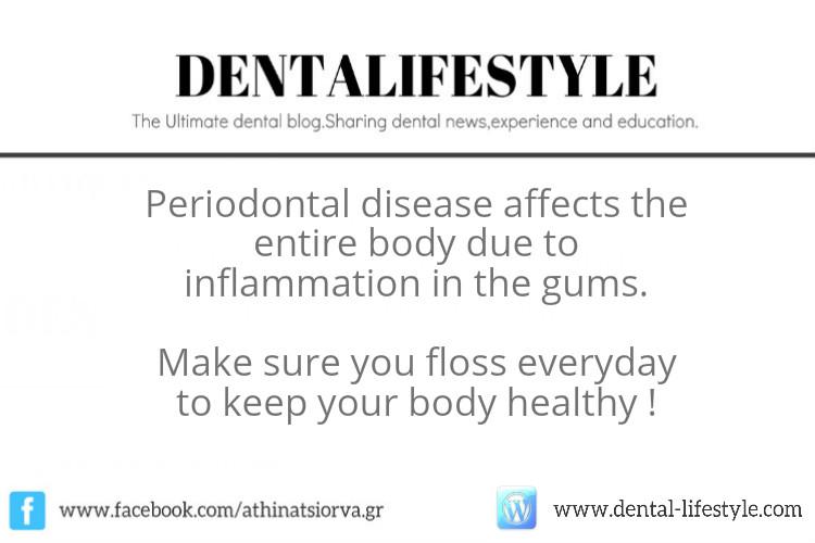 Are periodontal diseases so dangerous?