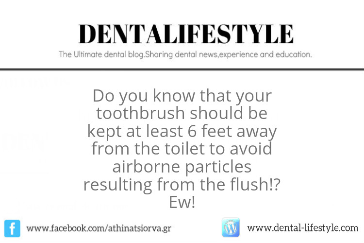 How Healthy Is It To Keep Your Toothbrush In The Bathroom?