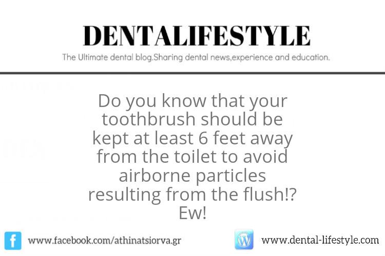 Είναι Λάθος Να Βρίσκεται Η Οδοντόβουρτσα Στο Μπάνιο?